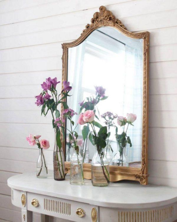 Las 25 mejores ideas sobre espejos antiguos en pinterest y - Espejos antiguos de pared ...