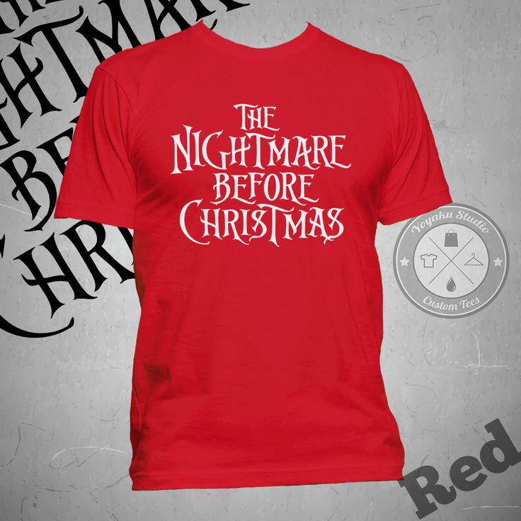"Jual Kaos ""The Nightmare Before Christmas"" (Title 2) - Yoyaku Shop | Tokopedia"