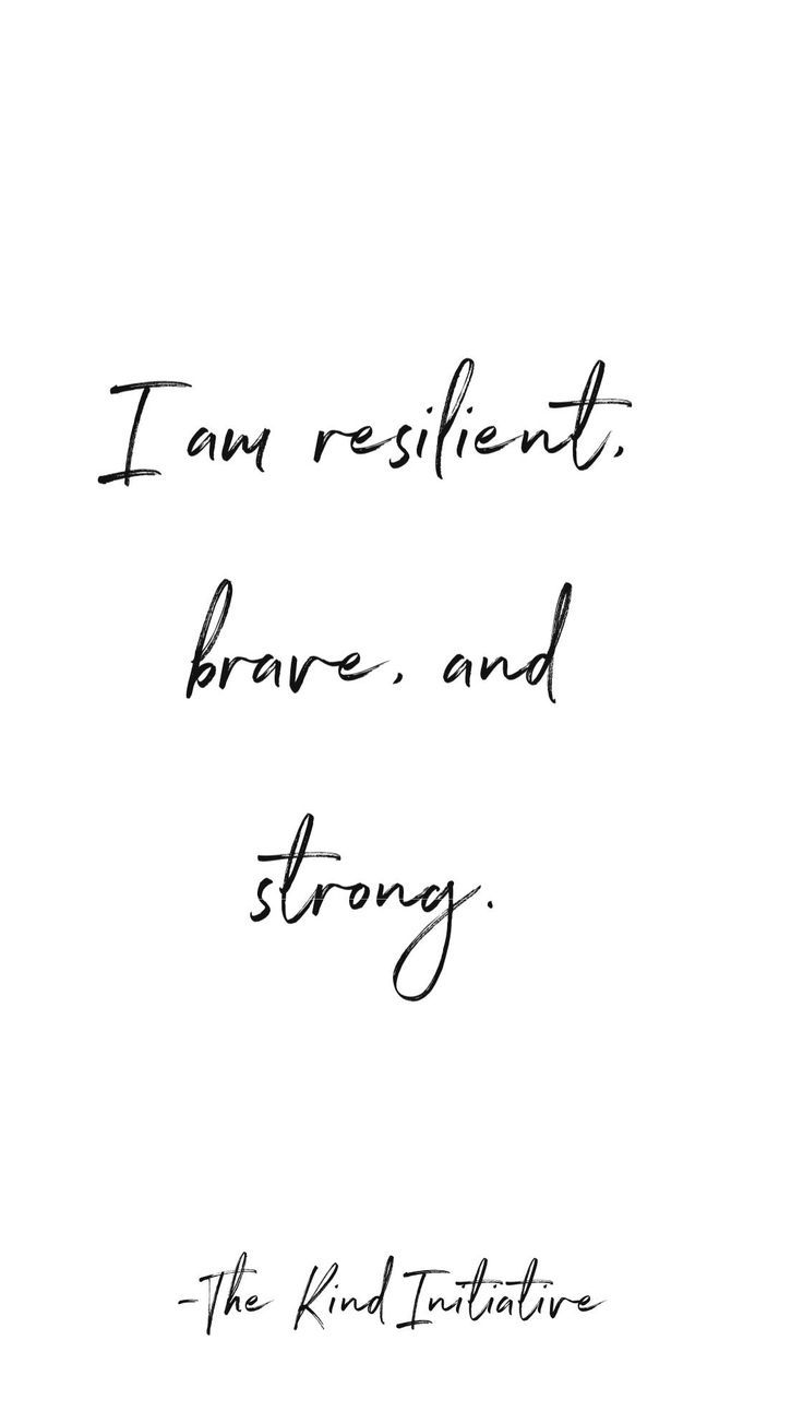 I Am Resilient Brave And Strong Dovme