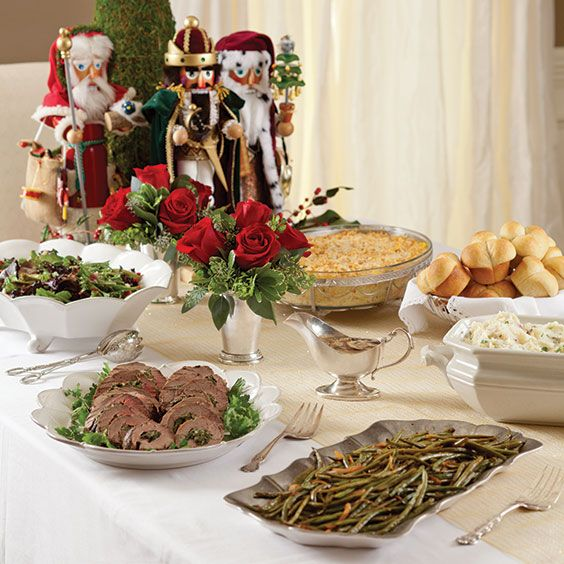 1000 images about dinner plans complete menus on for Traditional southern thanksgiving dinner menu
