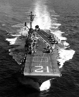 The veteran Essex-class carrier USS Hornet (photo: CV-12, WWII) is a most distinguished namesake in a long line of U.S. Navy warships with proud naval histories, beginning with the first Hornet in 1775 (8 total).  CV-12's  pilots destroyed 1,410 enemy aircraft and over one million tons of enemy shipping. Her planes stopped the Japanese super-battleship Yamato and played the major part in sinking her. She launched the first strikes in the liberation of the Philippines.