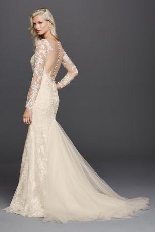 Best 25 galina signature wedding gowns ideas on pinterest petite long sleeve illusion v neck wedding dress style 7swg727 junglespirit Images