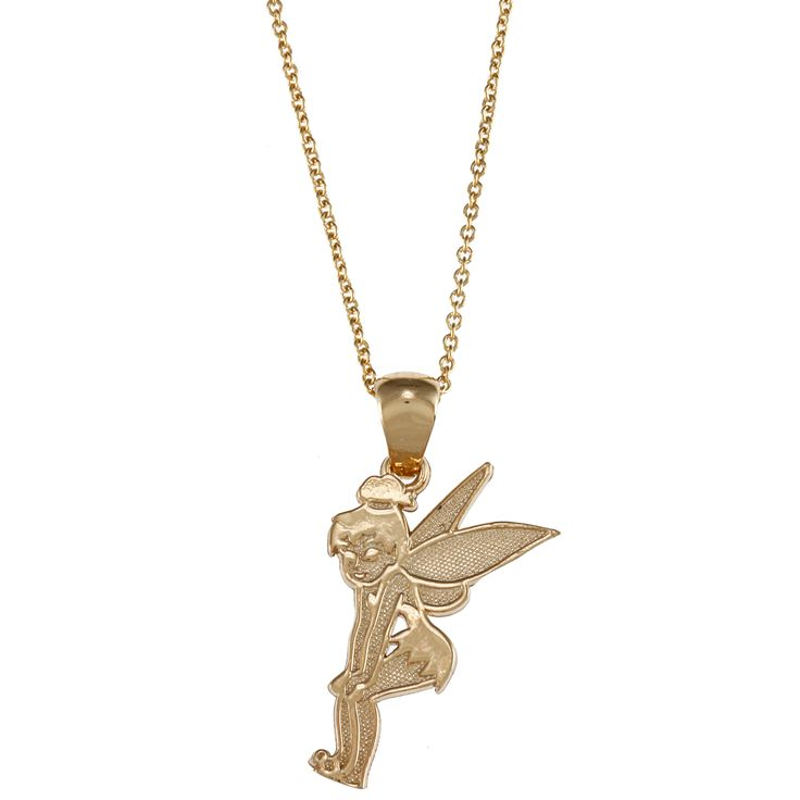 Mejores 75 imgenes de tinker bell en pinterest campanilla this disney tinkerbell pendant is made from 18 karat gold over sterling silver and comes aloadofball Images