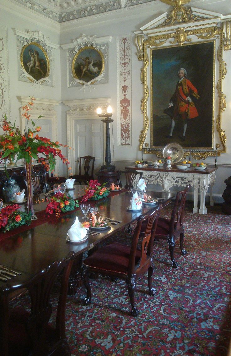 Nostell Priory State Dining Room West Yorkshire