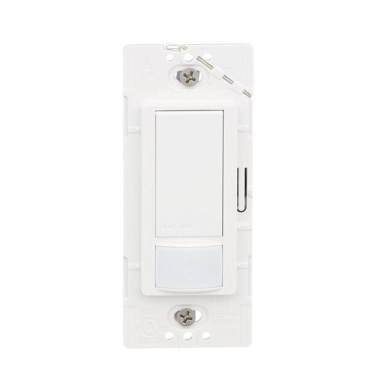 Lutron Maestro Single Pole Occupancy Motion Sensing Switch  White  2 Pack. Die besten 17 Ideen zu Motion Light Switch auf Pinterest   roas