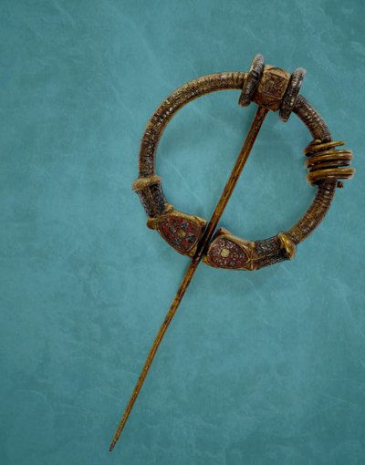 The Ballinderry Brooch, from circa 600 AD.National Museum of Ireland.