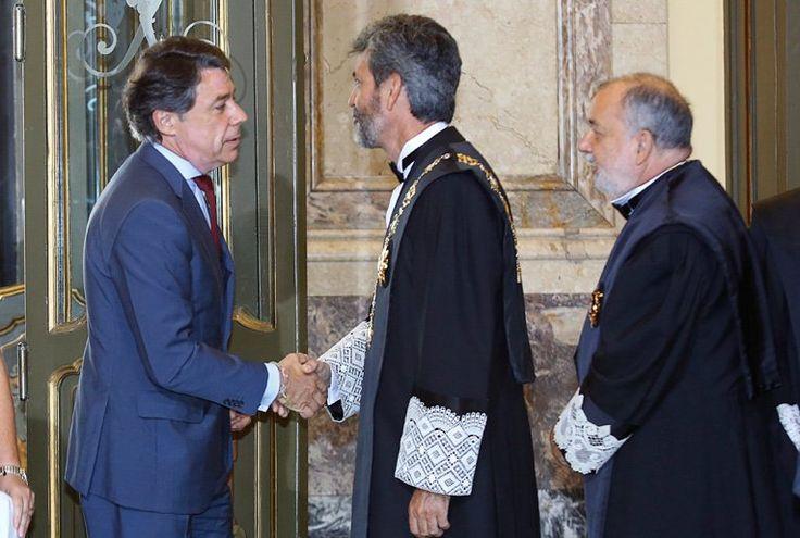 Ignacio González asiste a la apertura del año judicial presidida por S.M. el Rey Felipe VI