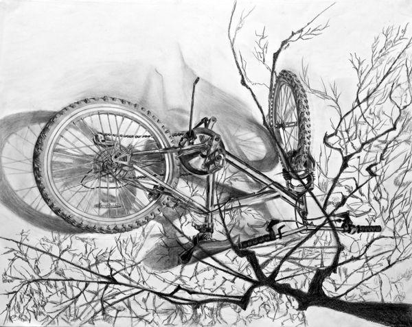 RISD Drawings by Katherine Zhang, via Behance