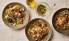 Thomasina Miers' recipe for Sicilian clams with linguine Give pasta and clams a nutty, zesty Sicilian twist Back in the 1500s, both Sicily and Mexico were ruled by Spain, and the Italian island found itself squarely on the trade route between the latter two.