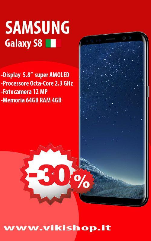 SAMSUNG GALAXY S8 NERO ITALIA 64GB !! ♥in Promozione!!! ♥ Spedizione Gratuita !!! ►Acquista Ora: https://lnkd.in/fyM4KhK #vikishop #spedizionegratis #samsungs8 #samsungs8italia #samsungitalia #samsung