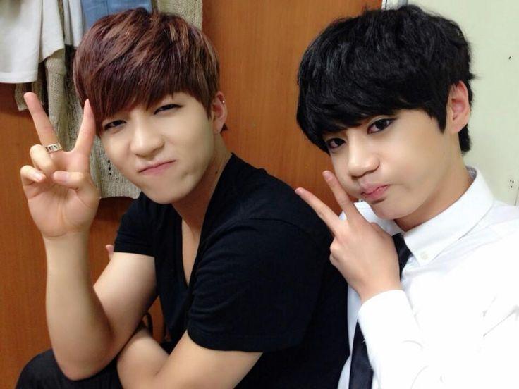 U-Kiss Soohyun and Jun