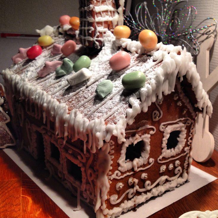 Gingerbread house pepparkakshus