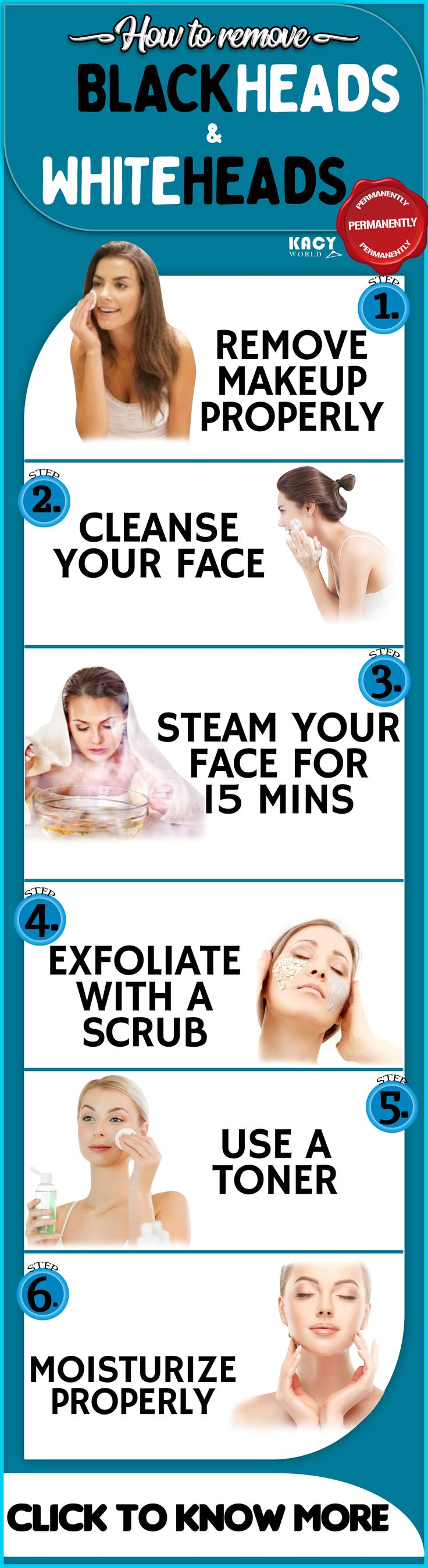 6 Tips To Remove Blackheads From Face Completely