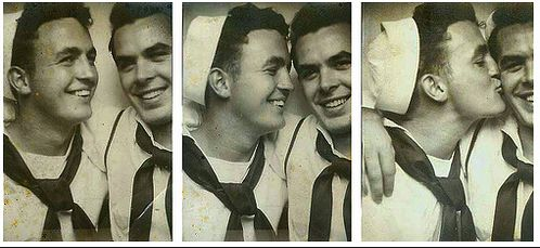 details unknown I've become transfixed by vintage images male friendships captured on film. They provide an interesting and unexpecte...