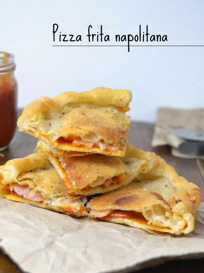 Pizza frita napolitana