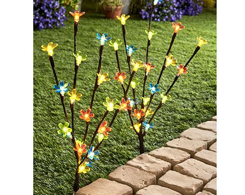 Set Of 2 Blossom Branch Lights Come and visit our Facebook Group for more fabulous ideas! https://www.facebook.com/groups/supersupermarket/