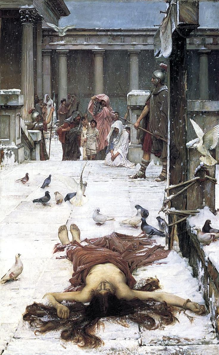 Saint Eulalia by John William Waterhouse