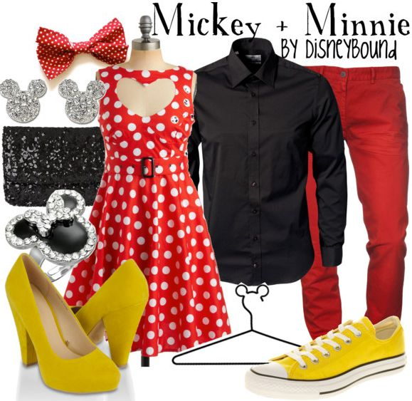 Mickey & Minnie by disneybound