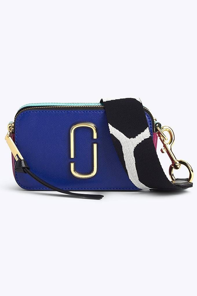 d700e3e13cc1 Marc Jacobs Snapshot Small Camera Bag in Academy Blue