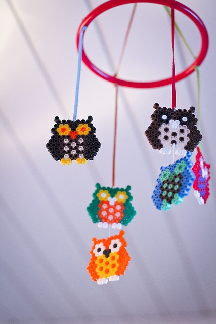 This reminds me of @Patty Garcia :)    Owl mobile  Ugle-uro by Johanne Brekkevold, via Flickr