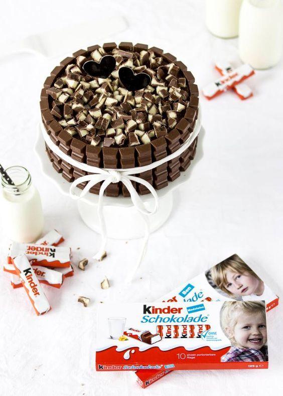 kinder Schokolade-Torte mit Beeren & eine Verlosung – Emma's Lieblingsstücke