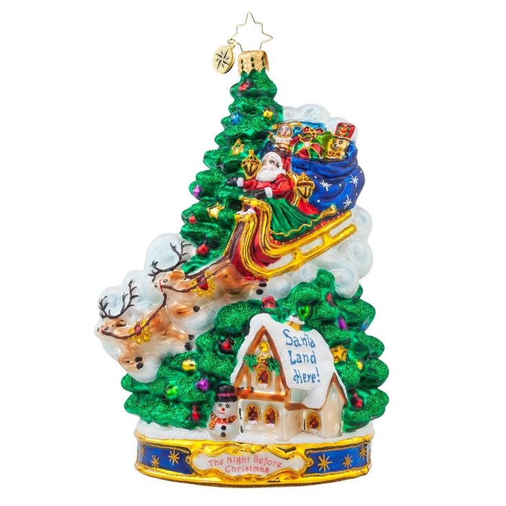 12 best Christopher Radko Twas the Night Ornaments images on