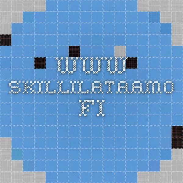 www.skillilataamo.fi maksuttomia harjoitteita kehittämään monipuolisesti perusliikkumistaitoja