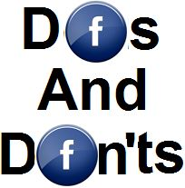Do's and Dont's for facebook marketing for the real estate professional. Need help with social media or target marketing? Stewart Title can help! #facebook marketing #dctitleguy