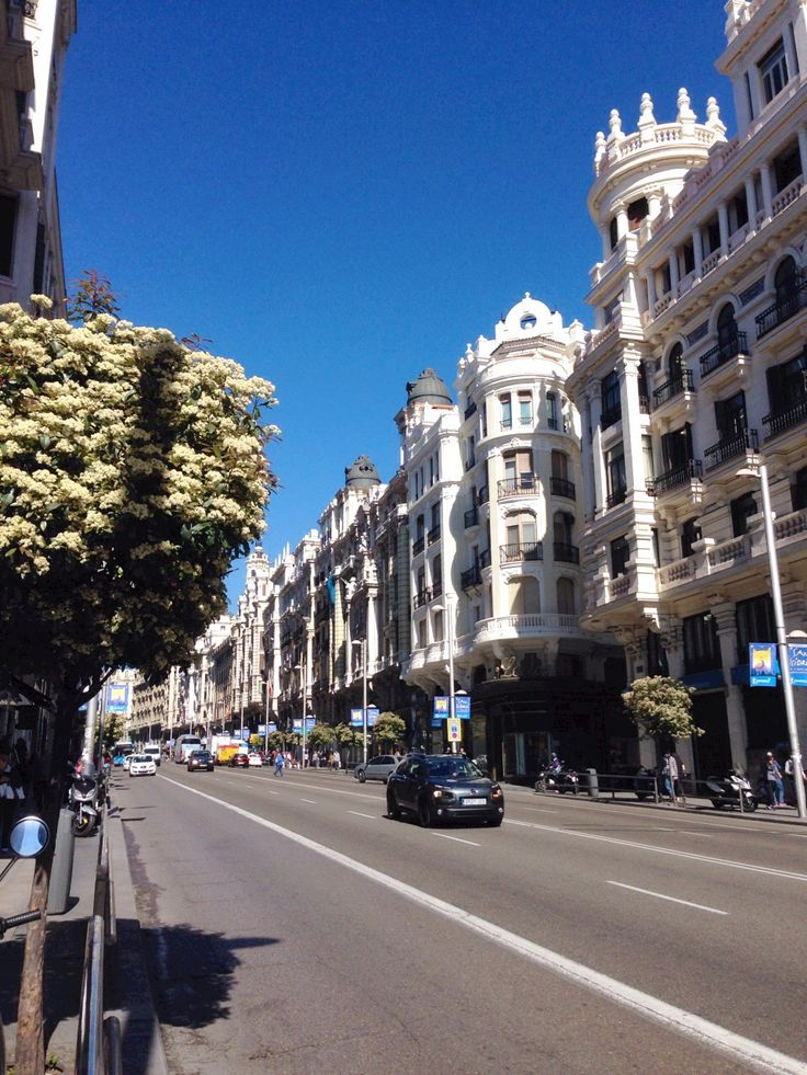 Madrid's energy & vibrancy beckons....plus a little note on Air BnB