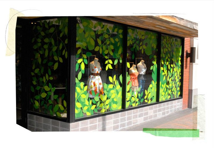 Spring windows, march windows  anthropologie