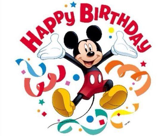 Happy Birthday mickey mouse   HAPPY BIRTHDAY Greetings   Pinterest ...