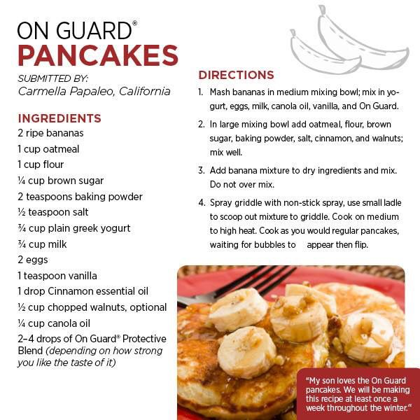 161 best essential oil food recipes images on pinterest doterra dterra on guard pancakes doterra oilspancakes and wafflesfood ideasdrink recipesshake recipesyummy recipesessential forumfinder Gallery