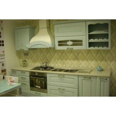 Cucina Classica LUBE 'Veronica' con Elettrodomestici inclusi Sconto del 60% sul prezzo originale