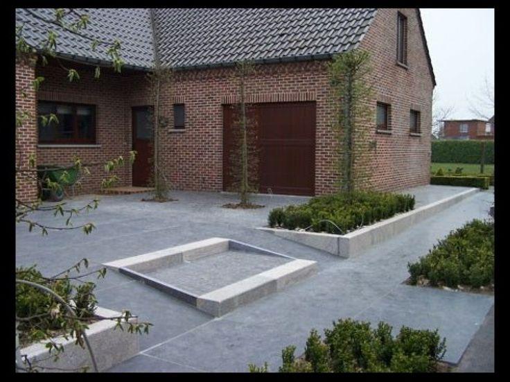 Boordstenen en keerwanden bij ELS Garden Antwerpen
