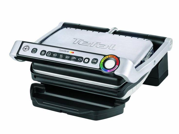 Parrilla eléctrica 2000 W Color Plateado Tefal GC 702D