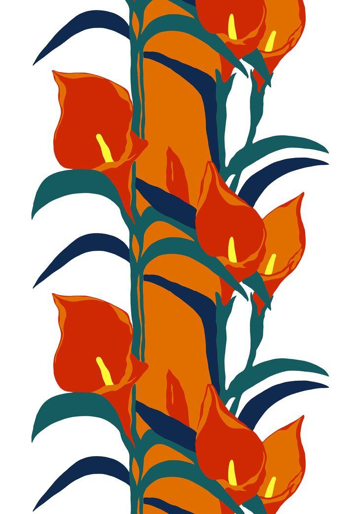 Liliana, orange by Marjatta Metsovaara
