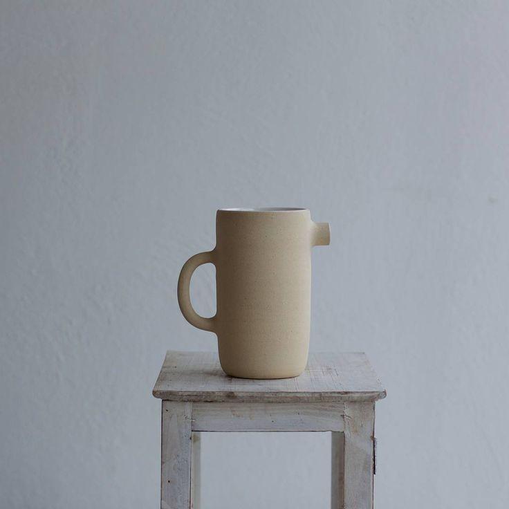 Online shop is live 🙌 Hand thrown Seagull Jugs are on sale 😉 #kiraniceramics #clay #maker #potter #nordic #design #aesthetics #handmade #rustic #tableware #scandinavian #craft #simple #shape #ceramics #slowliving #studio #minimal #artisan #vscocam #vsco #liveauthentic #makersgonnamake #livefolk #thatsdarling #thehappynow #pitcher #jug #buyfolk #shelfie