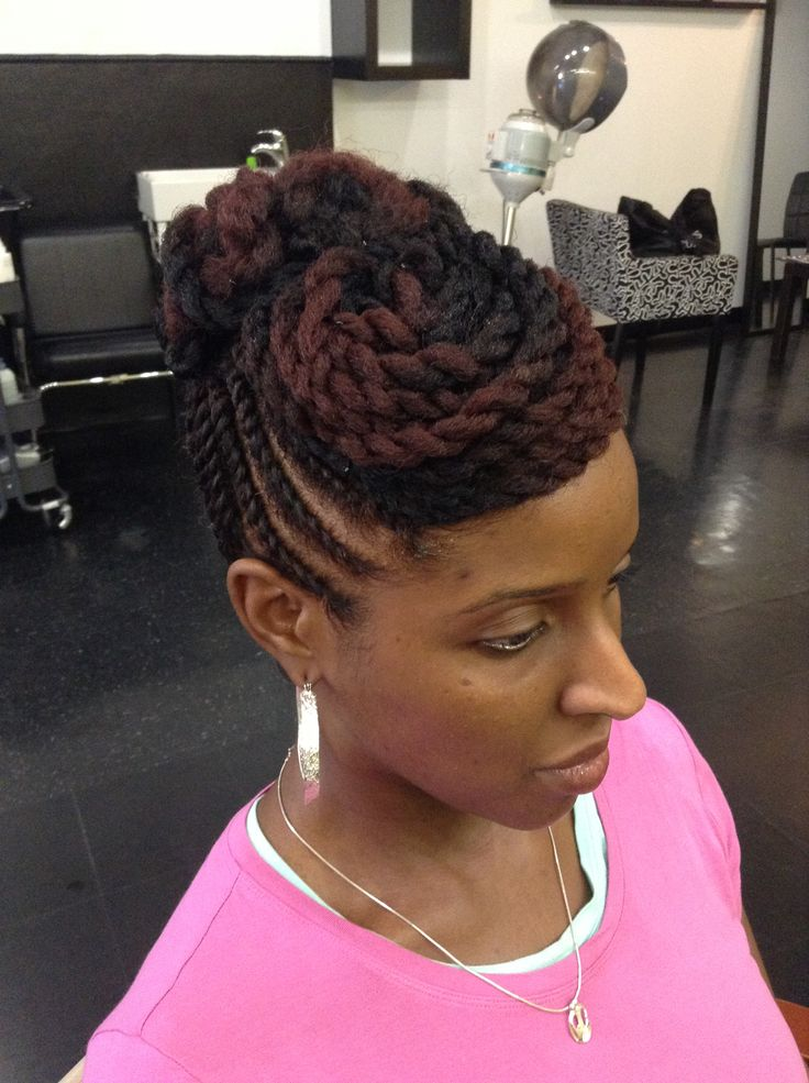 Pleasing 1000 Images About Natural Hair Styles On Pinterest Flat Twist Short Hairstyles Gunalazisus