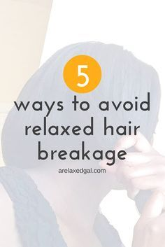 While it's not guaranteed that you can stop all hair breakage, there are things you can do to help you avoid it. Here are 5 tips for avoiding hair breakage. | arelaxedgal.com http://www.arelaxedgal.com/2016/07/5-ways-to-avoid-relaxed-hair-breakage.html