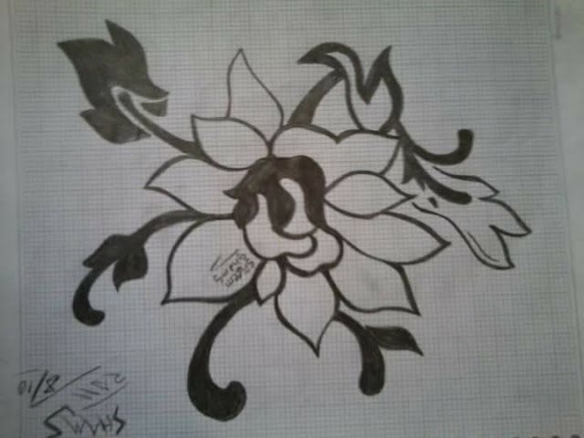 مدونة شمس رسمة وردة زخرفة قديمة Moose Art Art Blog