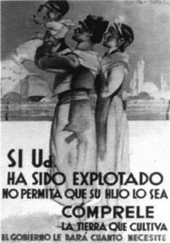 Afiche Peronista 1940/50