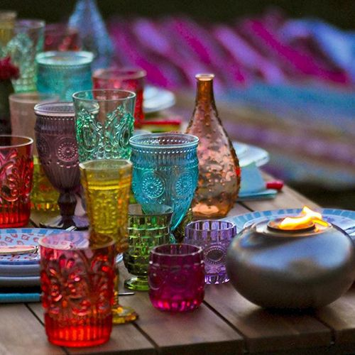 Picture your own backyard Boho party.