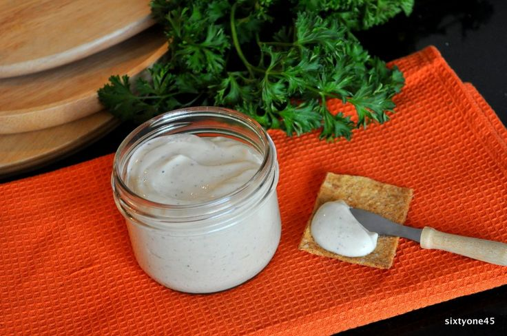 Homemade Vegan Mayonaise by sixtyone45. Low fat. Clean. And super easy to make.