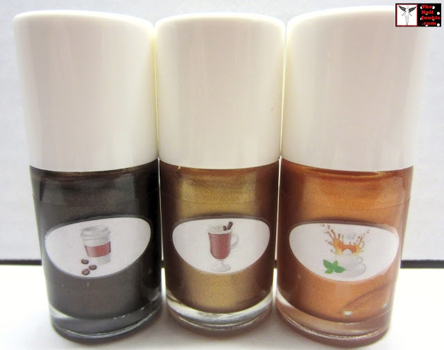"""The Nail Junkie: OFFICIAL RELEASE AND GIVEAWAY: My new """"Cafe Polish Line"""""""