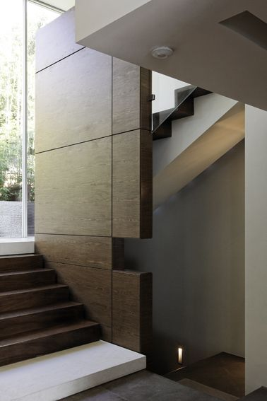 R House Staircase - Bruce Stafford Architects