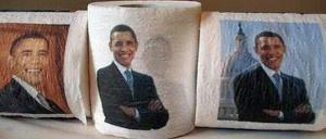 Firefighter fired for installing Barack Obama toilet paper in firehouse bathroom