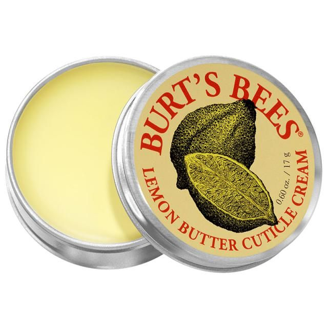 The Best Cuticle Creams: Burt's Bee Lemon Butter Cuticle Cream