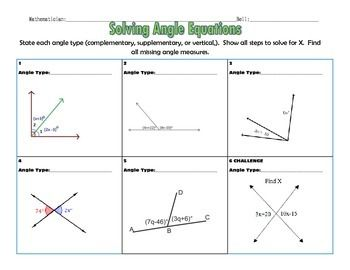 how to work out an angle given two sides