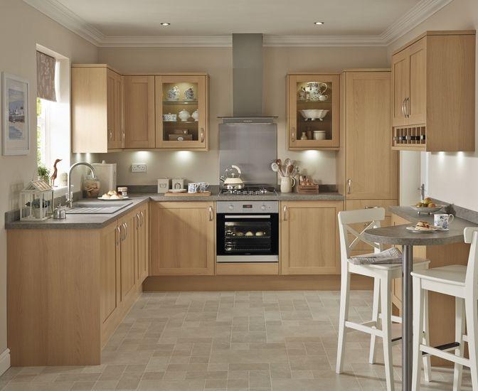 Unique English Oak Kitchen Cabinets