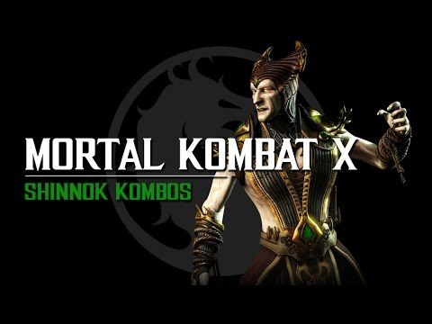 Mortal Kombat X Shinnok Kombos